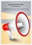 Advertisement Broadcasting Megaphone