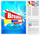 Journalism Breaking News Template