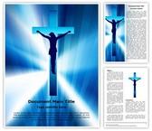 Jesus Cross Editable Word Template