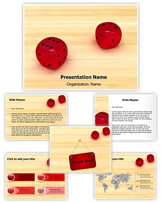 Dice Editable 3D PPT Template