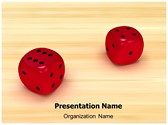 Dice Editable PowerPoint Template