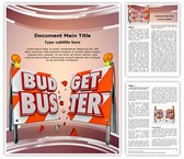 Financial Budget Buster Template