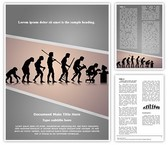 Human Evolution Template