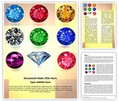 Jewelry Gemstone Template