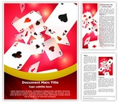 Gambling Playing Cards Template