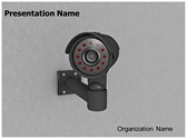 Security CCTV Camera Editable PowerPoint Template