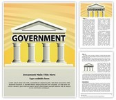 Architecture Government Building Template