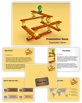 Dollar Balance Editable 3D PPT Template