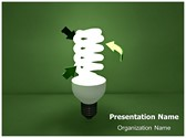 CFL Green Energy Editable PowerPoint Template