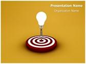 Idea Target Editable PowerPoint Template
