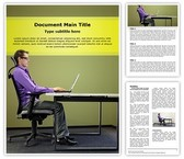 Office Ergonomics Editable Word Template