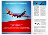 Southwest Airlines Editable Word Template