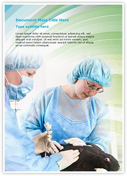 Veterinary Editable Word Template