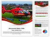 Medical Services Air Ambulance Template