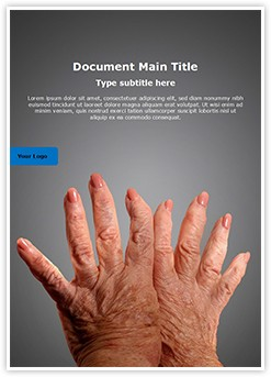 Arthritis Editable Word Template
