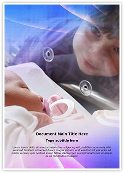 Baby Incubator Editable Word Template