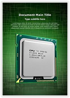 CPU Editable Word Template
