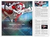 Circus Acrobat Template