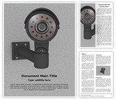 Security CCTV Camera Template