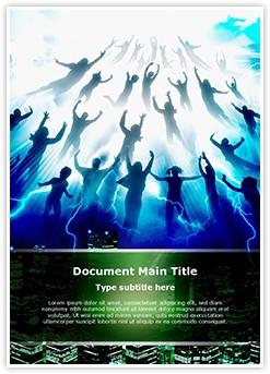 Rapture Editable Word Template