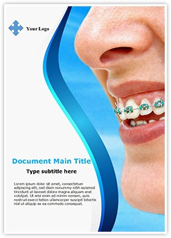 Braces Editable Word Template