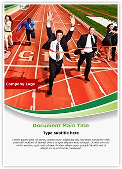 Business Competition Editable Word Template