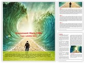 Crossing Red Sea Editable PowerPoint Template