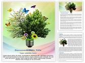 Environmental energy Editable Word Template