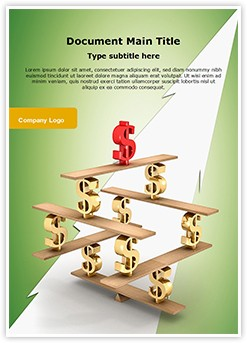 Financial balance Editable Word Template
