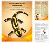 Toxic Amphibian Template