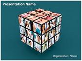 Medical Cube Editable PowerPoint Template