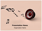 Music Notes Editable PowerPoint Template
