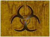 Bio Hazard Symbol Template