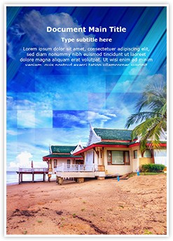 Exotic Thailand Vacation Editable Word Template