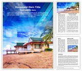 Exotic Thailand Vacation Word Template