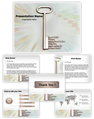 Key To Success Editable PowerPoint Template