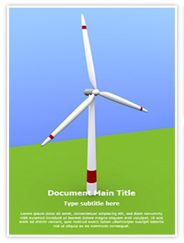 Windmill Editable Word Template