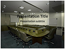 Boardroom Free PowerPoint Template