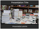 Book Exhibit Free PowerPoint Template