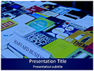 Book Fair Harvard Business School Free PowerPoint Template