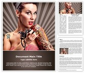 Tattoo Artist Template
