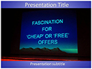 Business Offers Free PowerPoint Template