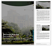 City View Free Word Template