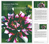 Dahlia Free PowerPoint Template