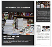 Book Exhibit Free Word Template