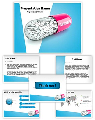Medical Business Editable PowerPoint Template