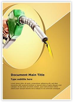 Petrol Fuel Editable Word Template