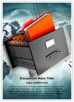 Document Management Editable Word Template