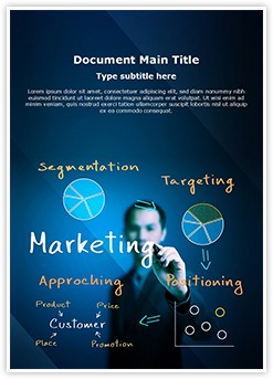 Marketing Editable Word Template