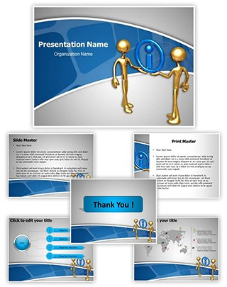 Sharing Information Editable PowerPoint Template